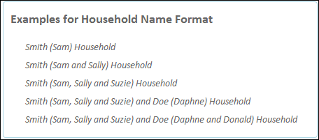 Customize household names power of us hub household examples m4hsunfo