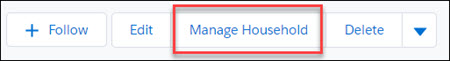 Manage Household button